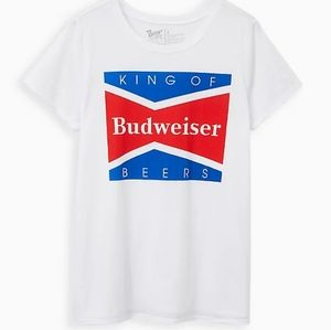 TORRID Classic Fit Budweiser Graphic Tee